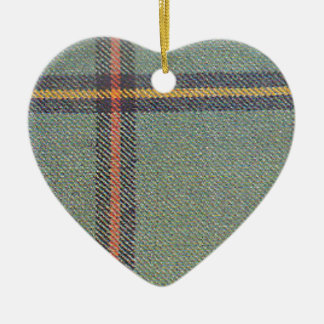 Tribe of Mar/Marr Ancient Tartan Ceramic Ornament