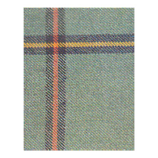 Tribe of Mar/Marr Ancient Tartan Letterhead
