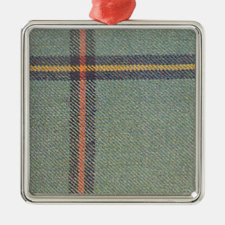 Tribe of Mar/Marr Ancient Tartan Metal Ornament