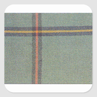 Tribe of Mar/Marr Ancient Tartan Square Sticker