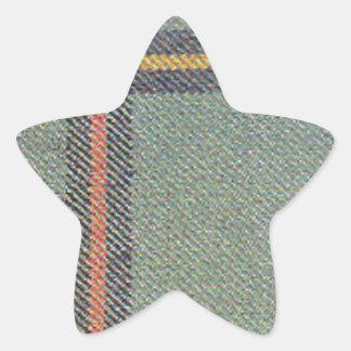 Tribe of Mar/Marr Ancient Tartan Star Sticker