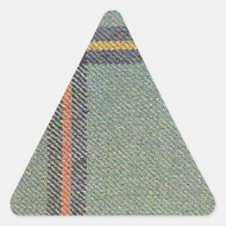 Tribe of Mar/Marr Ancient Tartan Triangle Sticker