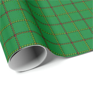 Tribe of Mar Scottish Tartan Plaid Wrapping Paper