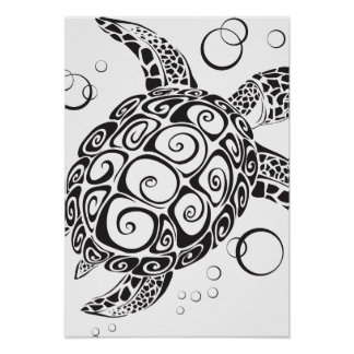 Trible Tattoo Poster