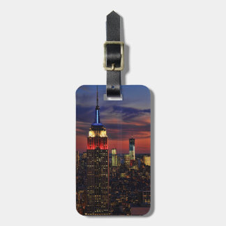 Tribute In Light Sept 11, World Trade Cntr ESB #1 Luggage Tag