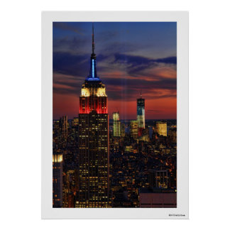 Tribute In Light Sept 11, World Trade Cntr ESB #1 Print