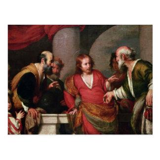Tribute Money, c.1631 Postcard