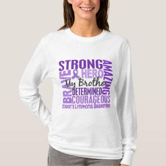 Tribute Square Brother Hodgkins Lymphoma T-Shirt
