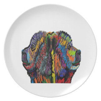 TRIBUTE TO BEARS PARTY PLATE