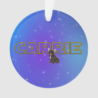 Tribute to Carrie Ornament