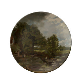Tribute to Constable Porcelain Plate