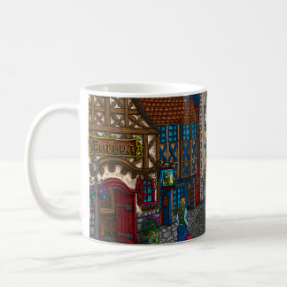 Tribute To Europa - Color Coffe Mug