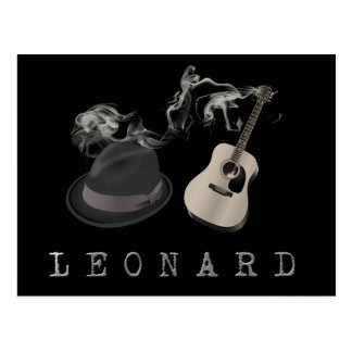 Tribute to Leonard Postcard