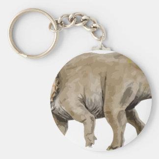 triceratops2 keychain
