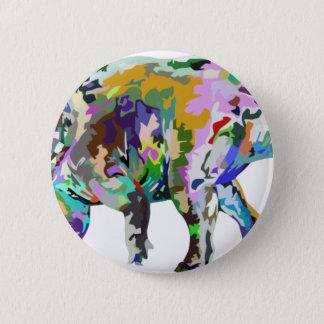 triceratops3 2 inch round button