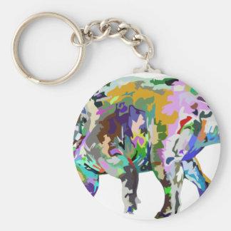 triceratops3 keychain