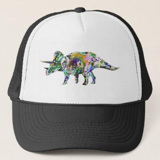 triceratops3 trucker hat