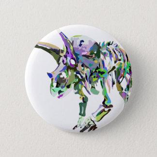 triceratops4 2 inch round button