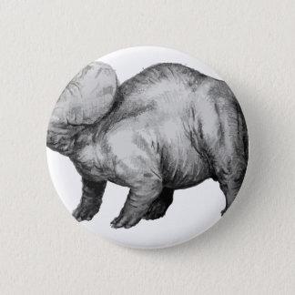 triceratops5 2 inch round button