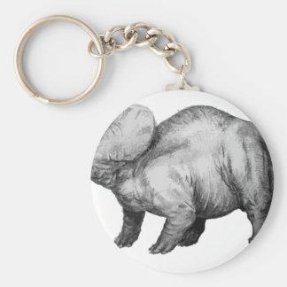 triceratops5 keychain