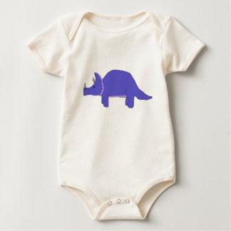 Triceratops apparel baby bodysuit