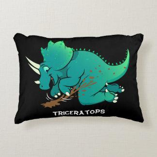 Triceratops Decorative Pillow