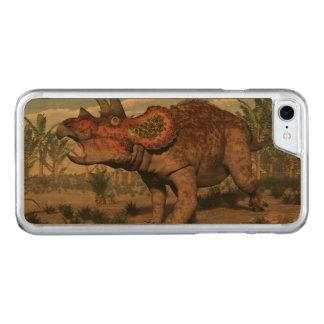 Triceratops dinosaur - 3D render Carved iPhone 8/7 Case