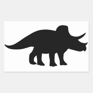 Triceratops Dinosaur. Sticker