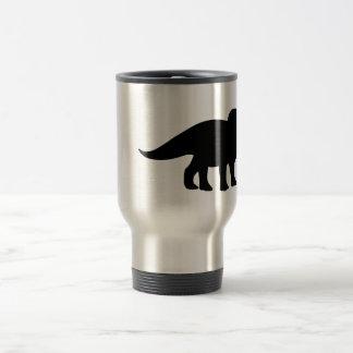 Triceratops Dinosaur. Travel Mug