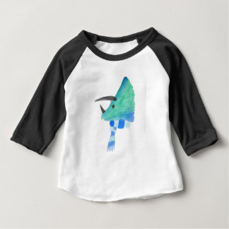 Triceratops In A Scarf Baby T-Shirt