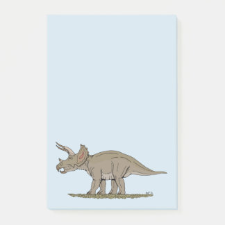 Triceratops Post-it Notes