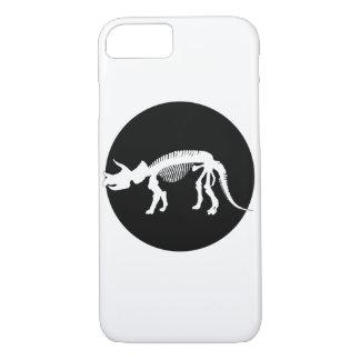 Triceratops skeleton iPhone 7 case