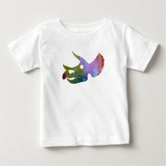 Triceratops Skull Baby T-Shirt