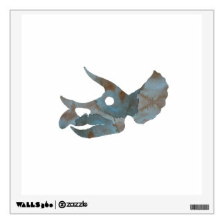Triceratops Skull Wall Decal