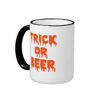 Trick or Beer Halloween Coffee Mug