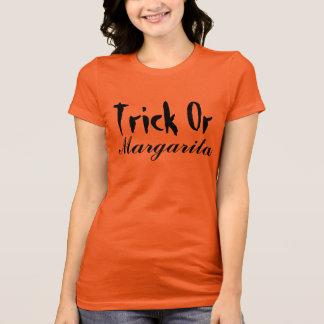 Trick Or Margarita funny Halloween Shirt