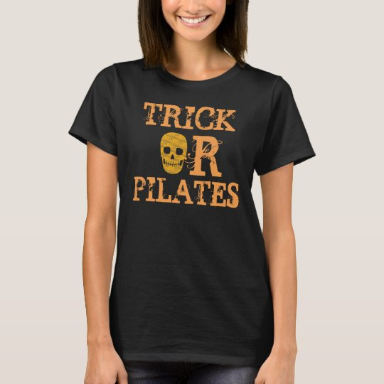 Trick or Pilates Shirt for Halloween Workout