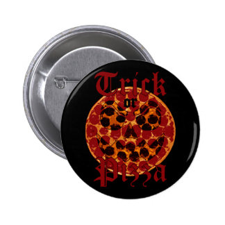 Trick or Pizza 2 Inch Round Button