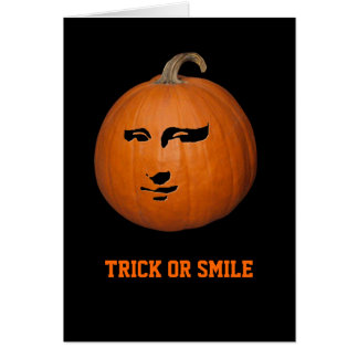 Trick or Smile Card