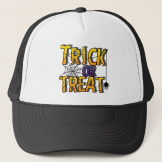 Trick or Threat collection Halloween Party Trucker Hat