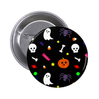 trick or treat 2 inch round button