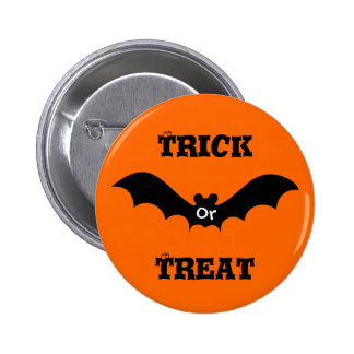 Trick Or Treat 2 Inch Round Button