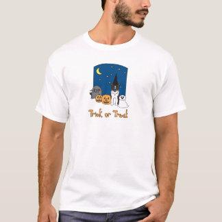 Trick or Treat Aussie Halloween T-Shirt