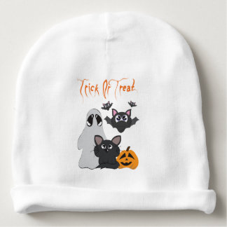 """Trick or Treat"" Baby Beanie"
