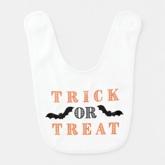 Trick Or Treat- Bats Bib