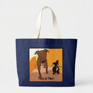 Trick or Treat Begging Dogs Bag