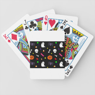 trick or treat bicycle playing cards