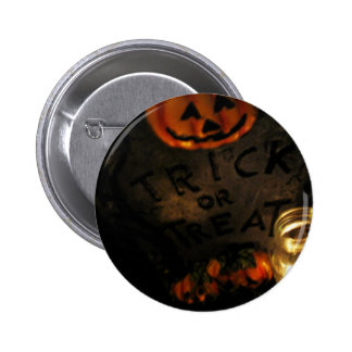 Trick or Treat Pinback Buttons