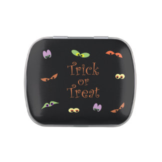 Trick or Treat Candy Tins