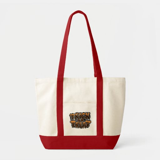 Trick or Treat Canvas Tote Bag